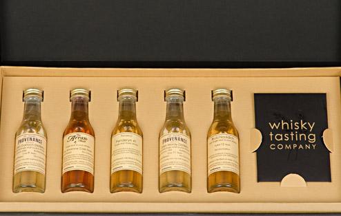 Personalised Whisky Tasting Set Large